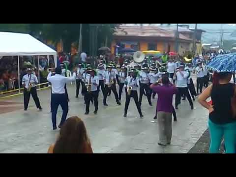 Atlantic College Marching Band. Siquirres, Costa Rica