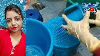 गन्दी मैली बाल्टी मग को साफ कैसे करे वो भी चुटकियों में । Plastic Bucket Mug Cleaning
