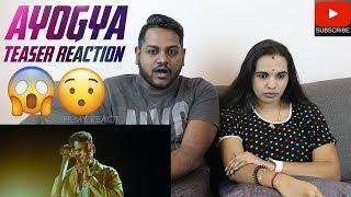Ayogya Teaser Reaction Malaysian Indian Couple Vishal Raashi Khanna Parthiepan