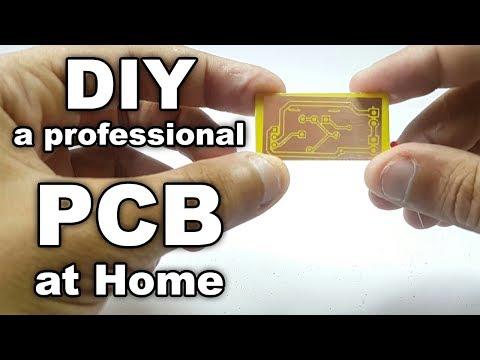 DIY Make professional PCB at home