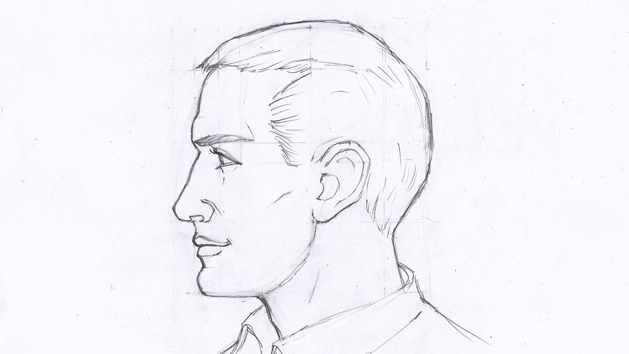 рисование 6 класс схема человека