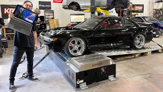 1JZ-GTE S13 FINALLY hits the DYNO! (TO THE MOON)