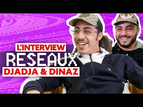 Djadja & Dinaz Interview Réseaux : Jul tu stream ? Donald Trump tu follow ? Despacito tu cliques ?