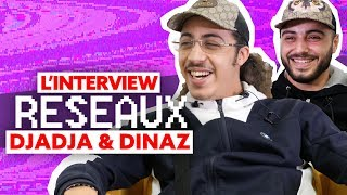 Djadja & Dinaz Interview Réseaux : Jul tu stream ? Donald Trump tu follow ? Despacito tu cliques ?