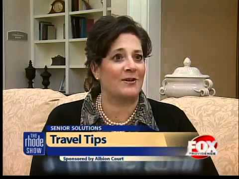 Tips on traveling with seniors