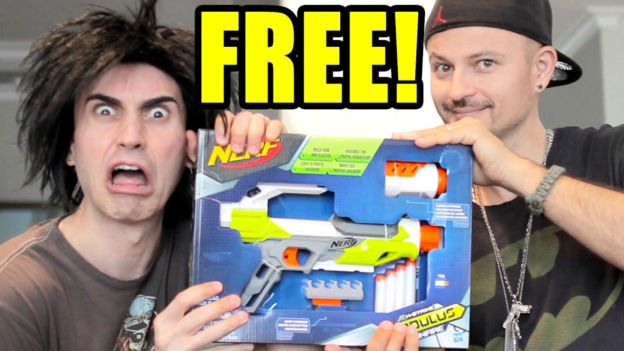 Free Nerf Gun