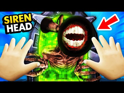 SCARY BABY Opens SIREN HEAD PORTAL In Virtual Reality (Funny Baby Hands VR Gameplay)
