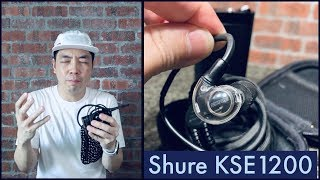 Shure KSE1200 Electrostatic Earphones - Seriously good or seriously bad?