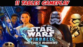 11 Tables - Pinball FX2  Star Wars Pinball The Force Awakens Pack