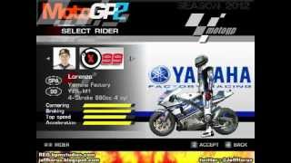 MotoGP 2012 Game ( Mod MotoGP 2 )