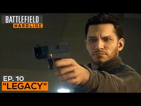 Battlefield Hardline Gameplay Walkthrough Part 11 - Episode 10: Legacy (All Evidence)