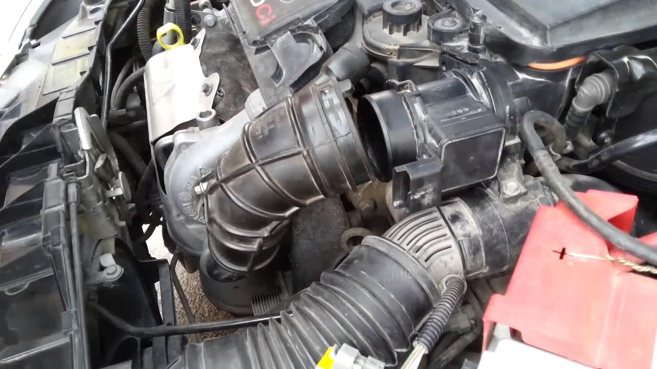Ford Fiesta Mk6  MAF Sensor Cleaning  YouTube