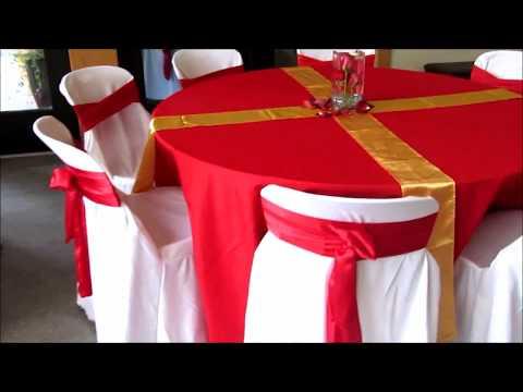Faos Events Decoracion Color Rojo Y Dorado