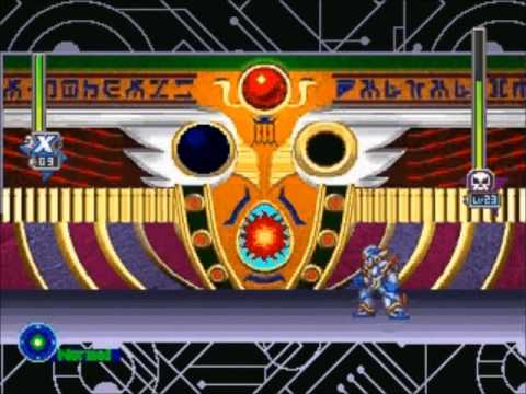 Mega Man X5: Cyber Maze Stage 2 (Zero Space)- No Damage, Buster Only