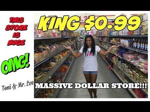 MASSIVE DOLLAR STORE ~ KING $0.99