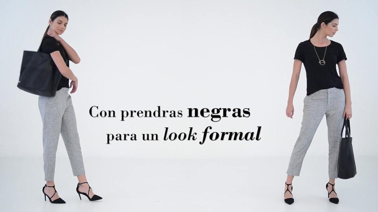 Como Combinar Un Pantalon Gris Para Diferentes Ocasiones 3 Ideas De Looks Punto Blanco Youtube
