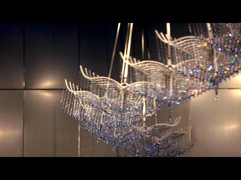 New Chandeliers at the National Museum of Singapore