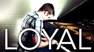 "Lil Wayne on Piano - ""Loyal"" - Chris Brown - Zach Evans Instrumental Piano Cover"