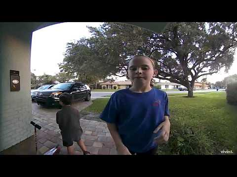 Dance Like No One's Watching - Caught on Doorbell Camera