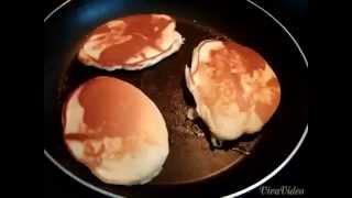 Banana Strawberry Chocolate Chip Pancakes
