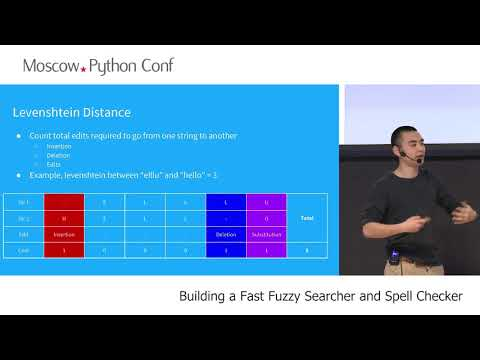 Ling Zhang (Software Engineer @ Aiden.ai) - Building a Fast Fuzzy Searcher and Spell Checker