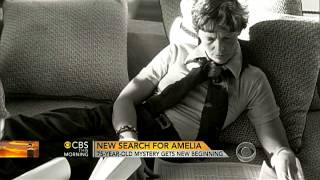 The search for Amelia Earhart resumes