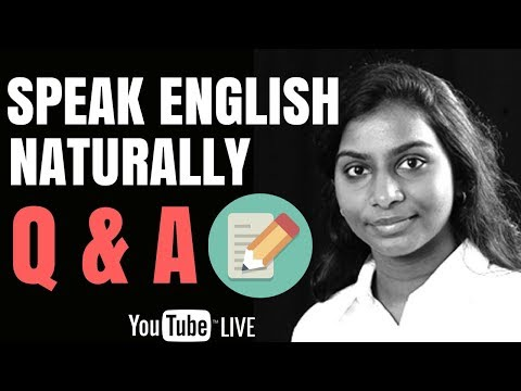 How To Speak English Naturally | Tamil