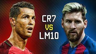 Ronaldo vs Messi - Free kicks ● 2016/17