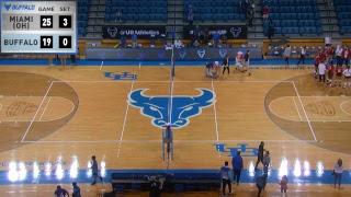 UB Volleyball vs Miami (OH)