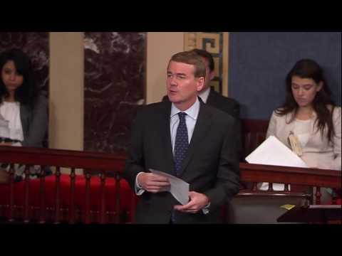 Sen. Michael Bennet Speaks on Senate Floor about Need for Bipartisan Health Care Reform