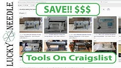 Buying Tools on Craigslist - How to Find and Make Great Deals - Upholstery