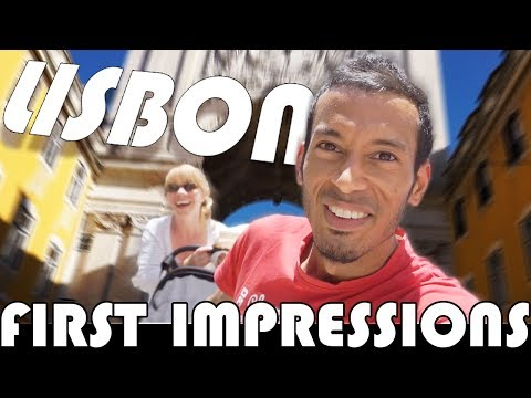 LISBON - FIRST IMPRESSIONS! - FAMILY VLOGGERS DAILY VLOG