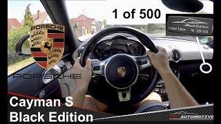 Porsche Cayman S Black Edition 2012 Videos