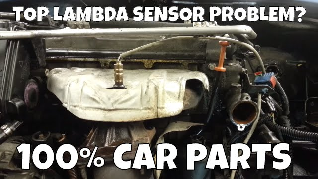 How To Change Replace Top Lambda Sensor Oxygen Sensor