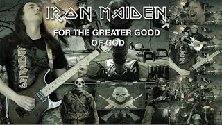 Iron Maiden For The Greater Good Of God Full Cover Collaboration