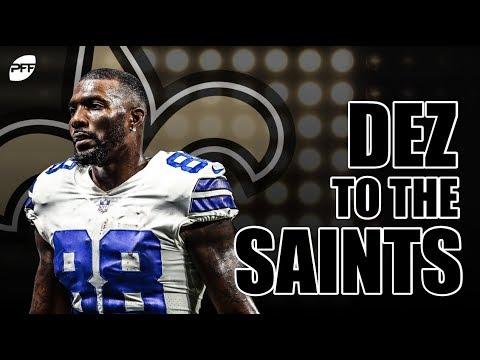 3921d0372 Dez Bryant to the New Orleans Saints