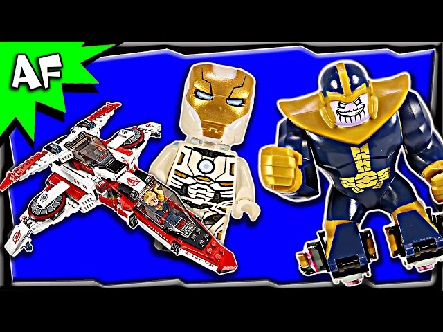 Lego Marvel Avengers AVENJET SPACE MISSION 76049 Stop Motion Build Review