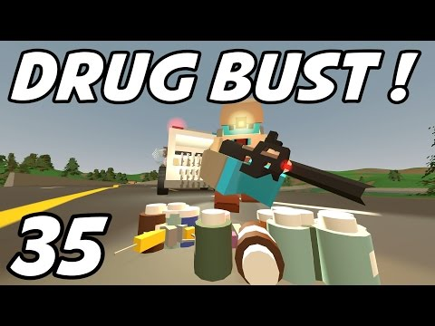 """UNTURNED - E35 """"Drug Bust!"""" (Role-Play Playthrough 1080p)"""