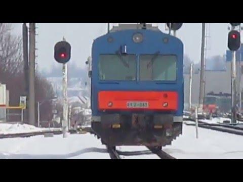 АЧ2-043 сообщением Льгов-Орёл отправляется со ст. Курбакинская, Курская область, Россия