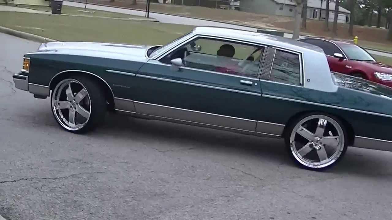 1981 Pontiac Bonneville On 24s Youtube
