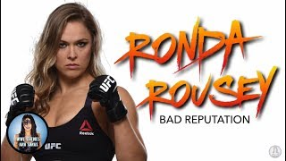 Gambar cover Ronda Rousey - Bad Reputation (Official 1st WWE Theme)