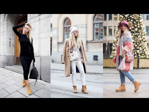 How to Wear Timberland Boots for Women
