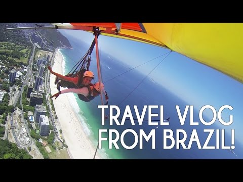 Best Trip to Brazil! Hang gliding, skuba diving and beach life!