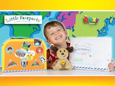 Little Passports Kids' Subscription Box: MUSIC month ...