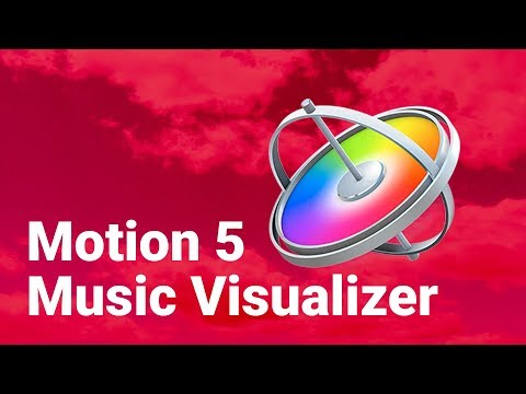 Apple Motion 5 | Music Visualizer Tutorial | Clouds