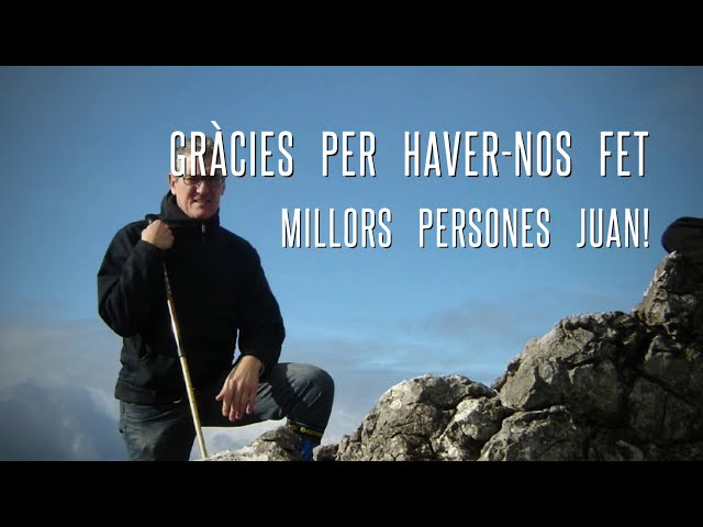 Ja et trobem a faltar Juan, ha estat un privilegi fer aquest camí amb tu amic