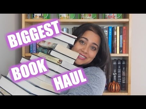 MY BIGGEST BOOK HAUL YET (OVER 20 BOOKS!)