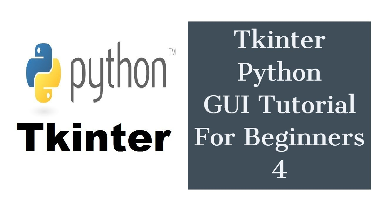 Tkinter Python GUI Tutorial For Beginners 4 - Handle Button Click Event