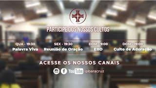 Culto de adoração   O cuidado do bom Pastor   Pr. Ronner Batista
