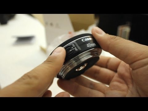 Canon EF 40mm STM Pancake lens review (with samples)
